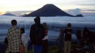AMAZING JOURNEY AT DIENG PLATEAU - Country in the clouds. Land and garden of the gods