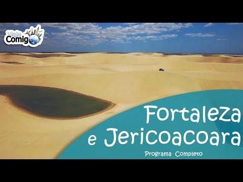 FORTALEZA E JERICOACOARA - CEARÁ | PROGRAMA VIAJE COMIGO