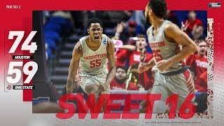 Houston vs. Ohio State: Second round NCAA tournament extended highlights