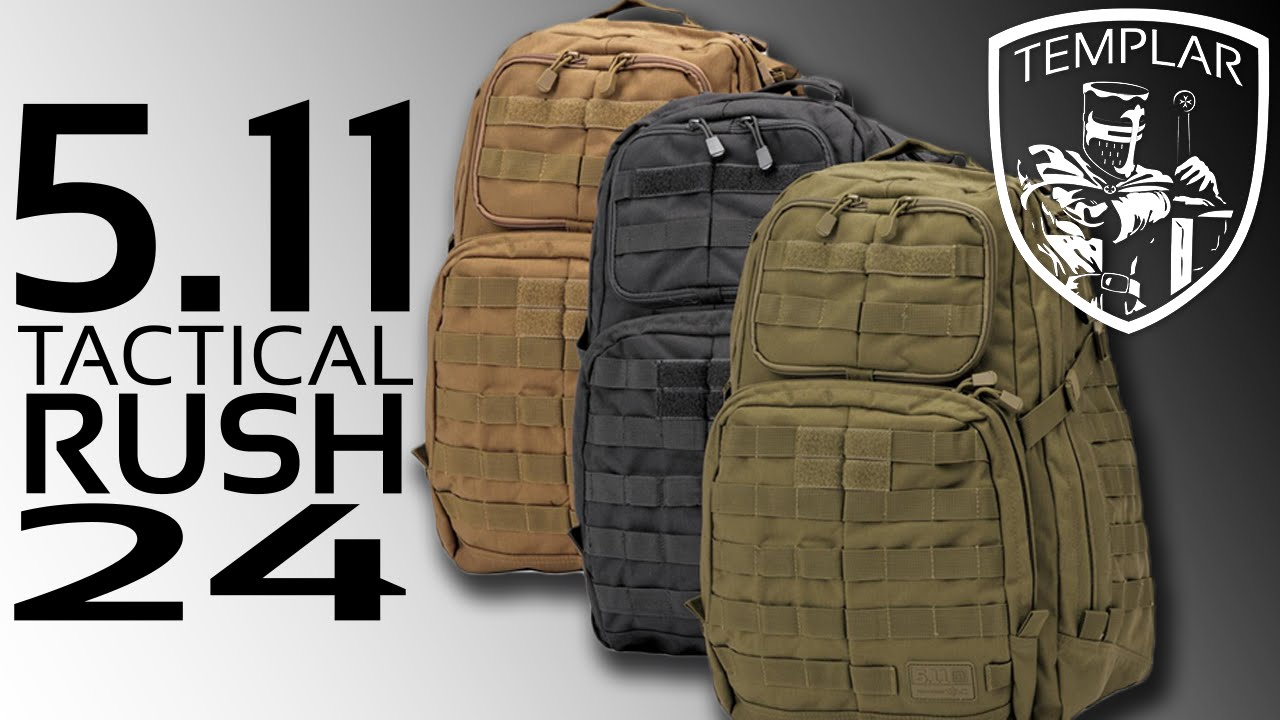 The Best Back Pack EVER! 5.11 Tactical Rush 24 Backpack - YouTube