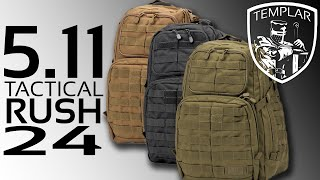 The Best Back Pack EVER! 5.11 Tactical Rush 24 Backpack
