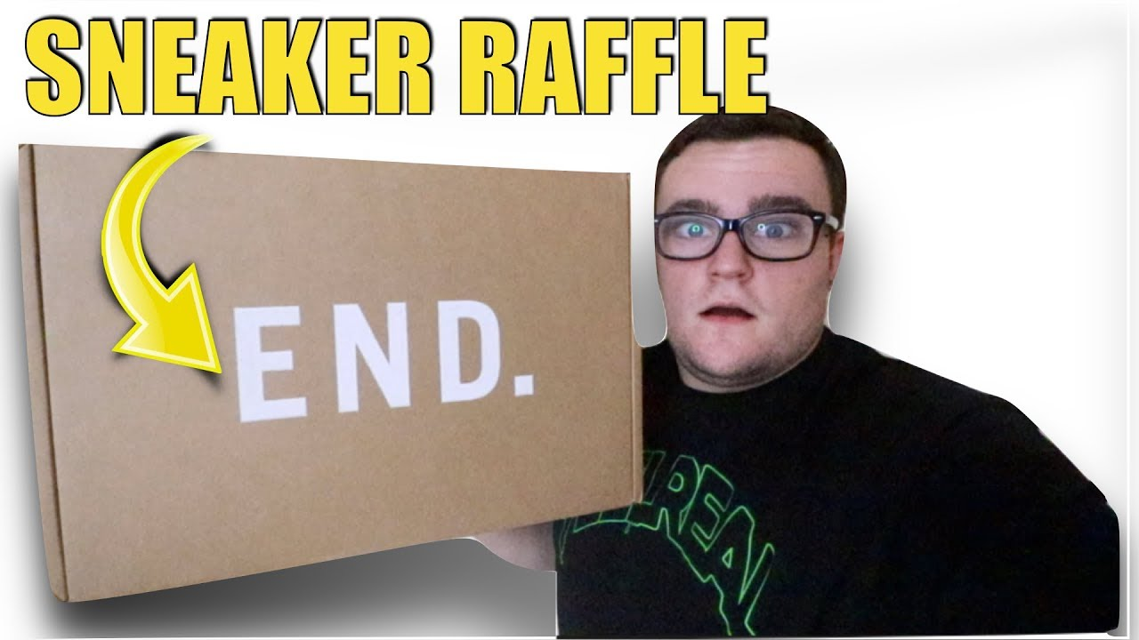I WON A SNEAKER RAFFLE FROM END