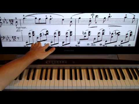 How To Play Chopin Nocturne Op. 9 No. 2 On The Piano Shawn Cheek Lesson Tutorial