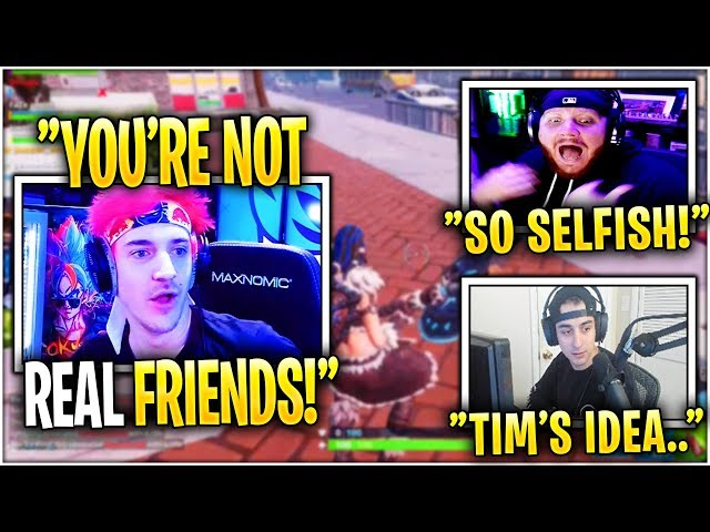 Ninja in DISBELIEF After Tim, Cloak & Lupo LABELED him as Selfish behind his back! *TEST*
