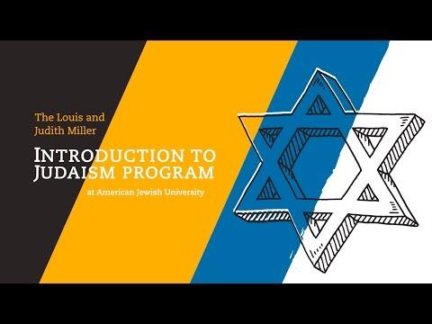 AJU's Intro to Judaism Program