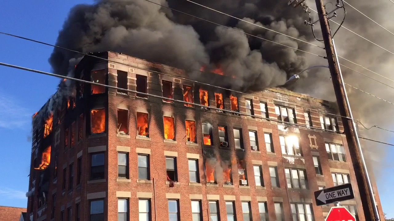 holyoke apartment building destroyed by new year 39 s day. Black Bedroom Furniture Sets. Home Design Ideas