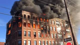 Holyoke apartment building destroyed by New Year's Day fire