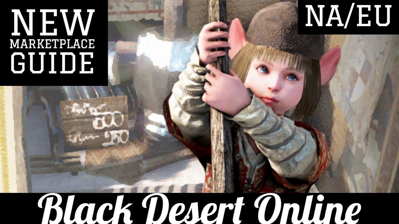 Black Desert Online [BDO] How Central Marketplace Works for NA/EU