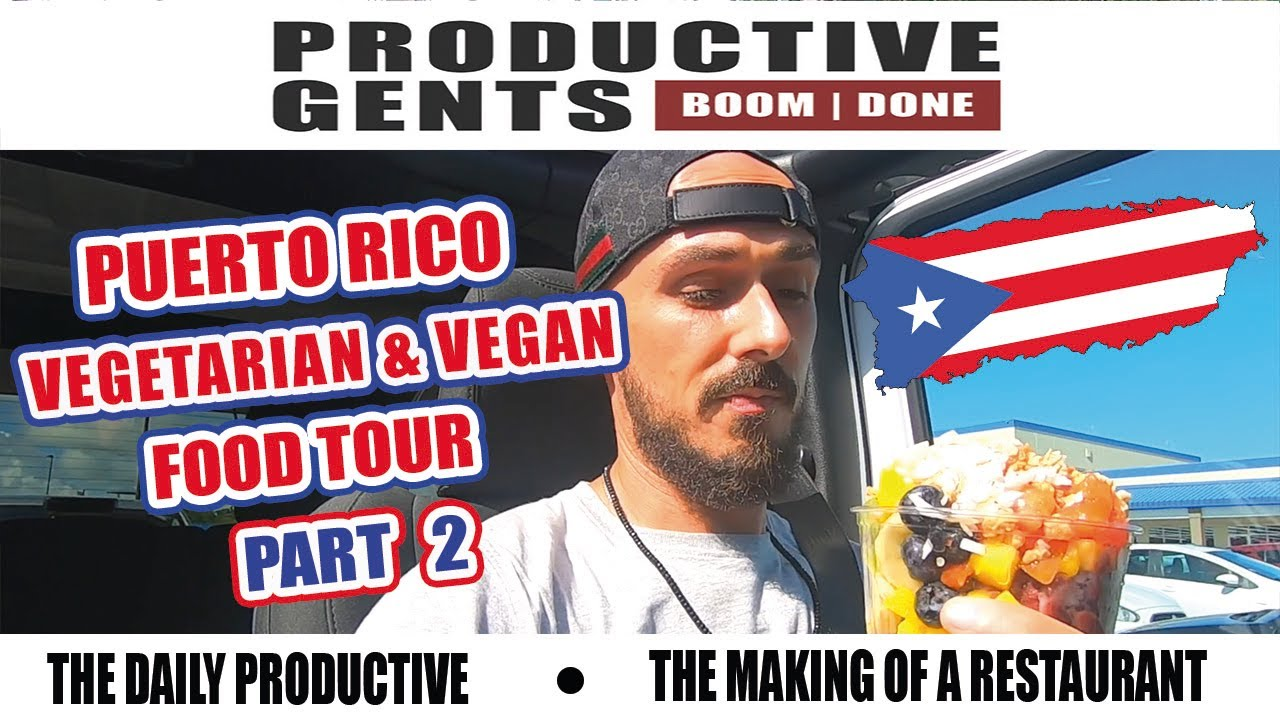 Puerto Rico // Vegetarian and Vegan Food Tour Part 2 #PuertoRico #vegetarian #vegan