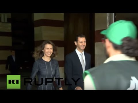 Syria: Assad and his wife cast ballots as parliamentary elections kick off