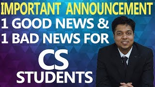Very Important Announcement for all CS Student