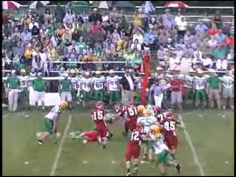 2009 Bluffton High School Football Highlight