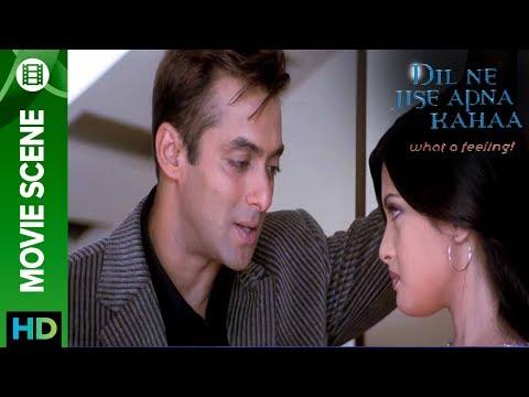 Riya Sen hugs Salman Khan - Dil Ne Jise...