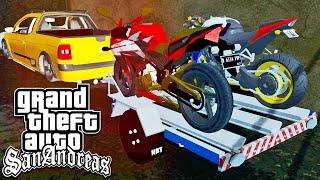 Carretinha de Motos - GTA San Andreas