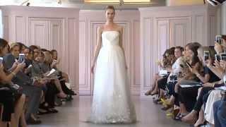 Oscar de la Renta Spring 2016 Bridal Show