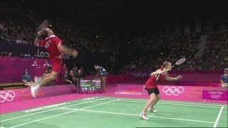 Badminton Mixed Doubles Medal Matches - Denmark v Indonesia Full Replay -- London 2012 Olympic Games