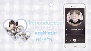 *:;;:*+゚♡ Reproductor de música aesthetic 🌱♡ ʕ ﹷ ᴥ ﹷʔ screenshot 3