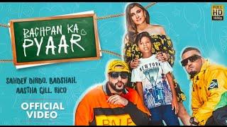 Bachpan Ka Pyaar making (Official Video) Badshah, Sahdev Dirdo, Aastha Gill, Rico