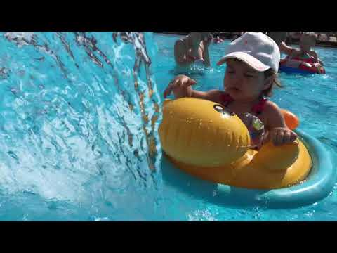 Pool Anapa Beton Brut Resort & Spa 4* / Я плаваю в бассейне семейного отеля Бетон Брют Анапа
