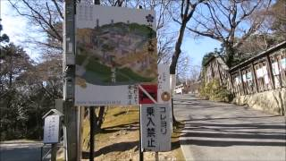 岡崎市岩津天満宮到着までの車載動画および歩き撮り動画(2015)