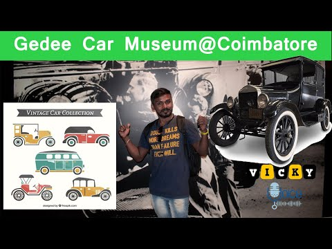 GeDee Car Museum (Part-1) @ Coimbatore - Specially For Crazy Car Addicts - Antique Car Collectionss