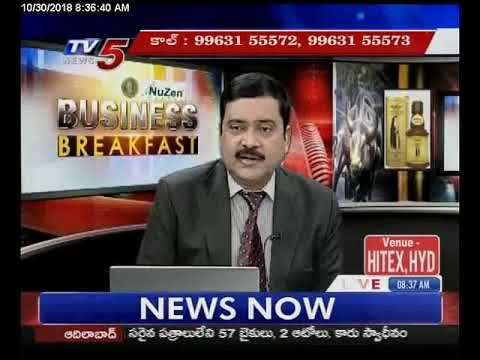 30th Oct 2018 TV5 News Business Breakfast