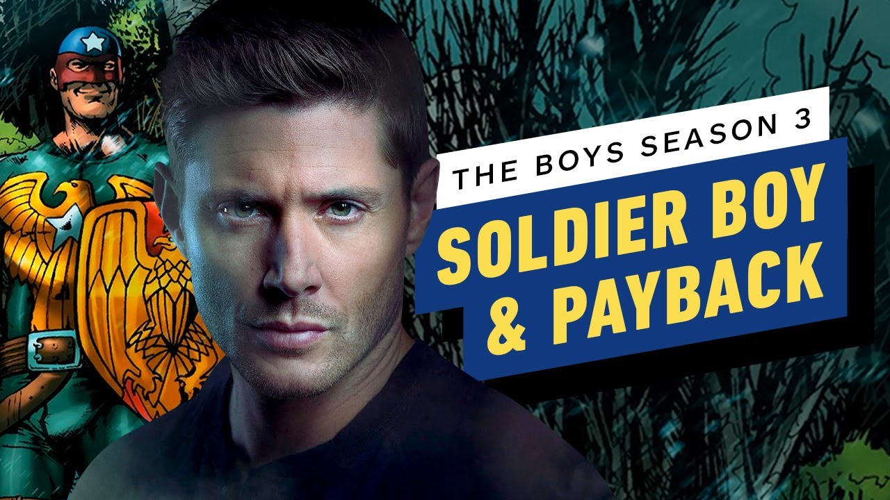 Download The Boys Season 3: Soldier Boy Introduces a F##ked Up Take on Avengers