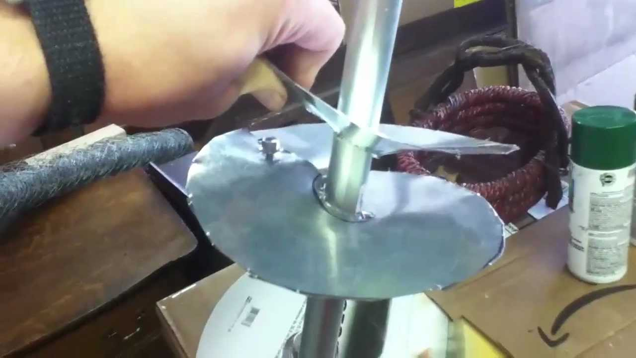 Home Made Auger P1 Youtube