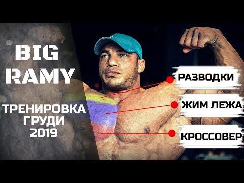 БИГ РАМИ. Адская тренировка грудных мышц / Новый тренер / Подготовка к Олимпии 2019