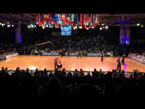 Grand Slam Latin Moscow 2015 Semi-Final Heat  1 Rumba