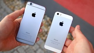 Apple iPhone 6 vs. iPhone 5s (Deutsch) | SwagTab(Apple iPhone 6 vs. iPhone 5s Vergleich (Deutsch) iPhones bei Apple: http://store.apple.com/de/iphone iPhone 6 bei amazon: http://amzn.to/1BEY9k0 iPhone 5s ..., 2014-10-05T15:54:38.000Z)