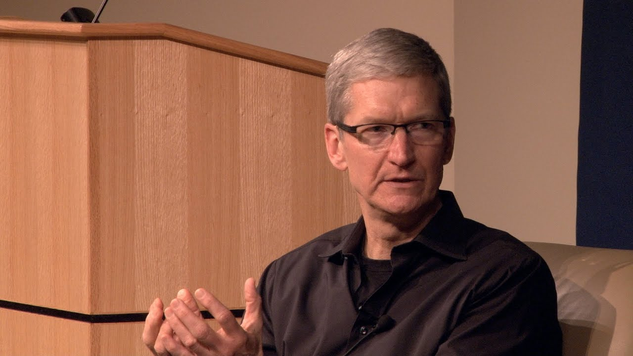 Tim Cook wants Americans to Vote on their iPhones!