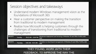 Overview: Modern Windows 10 and Office ProPlus management with Enterprise Mobility + Security