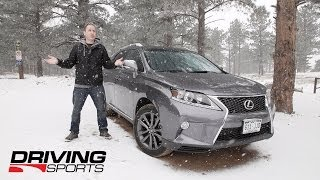 2014 Lexus RX350 F-Sport Reviewed and Driven in Colorado