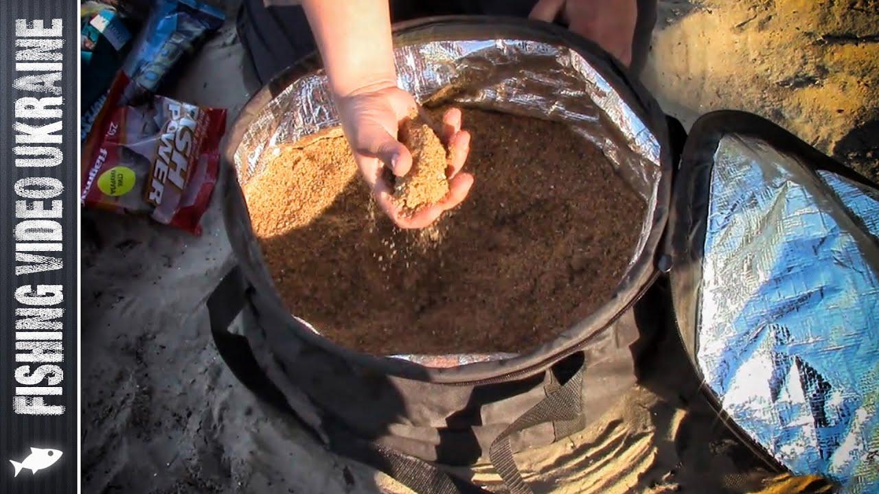 фидерная прикормка для судака своими руками