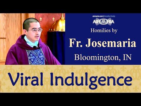 Viral Plenary Indulgences - Mar 21 - Homily - Fr Josemaria
