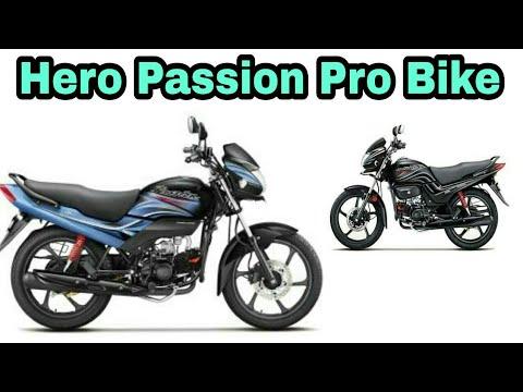 Hero Passion Pro Bike 2018 Youtube