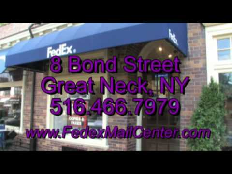 FedEx Bond Street Business Services Great Neck, NY