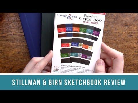 Stillman & Birn Sketchbook Review | Side by Side Comparison with Pentallic and Handbook