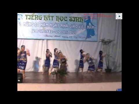 [Tiếng hát HS Huyện Thống Nhất 2012] Múa Dân tộc  - Tốp múa HS Tiểu học Hoàng Văn Thụ