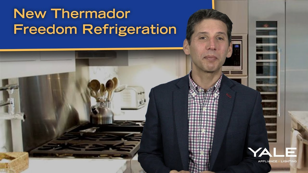 New Thermador Freedom Refrigerator And Freezer