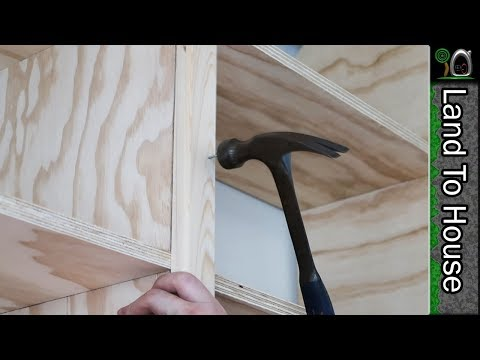Building and Installing Bookcase Trim