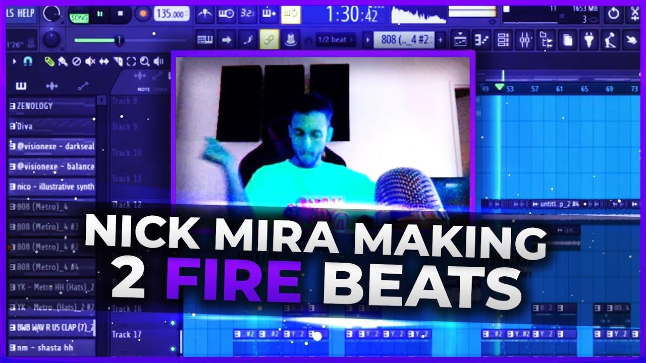 Nick Mira Making 2 FIRE Beats From Scratch 🔥 Nick Mira Twitch Live [09/20/21]