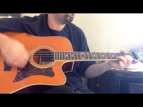 Jewel - You Were Meant For Me - HD - Acoustic Guitar Cover - Main Riff