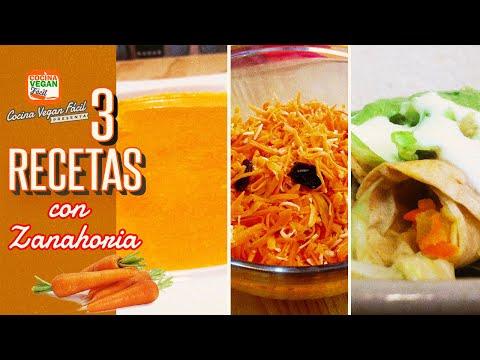 3-recetas-con-zanahoria-(sopa,-tacos,-ensalada)-ricas-en-vitamina-a---cocina-vegan-fácil