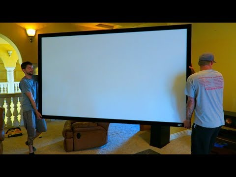 Surprising My Family With Home Movie Theater!