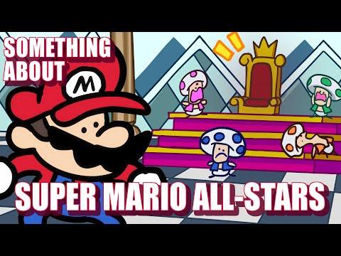Something About Super Mario All-Stars Speedrun ANIMATED (Loud Sound & Light Sensitivity Warning)