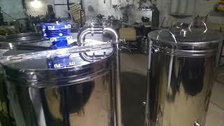 Варочный порядок на 200 литров. Пивоварня