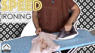 Speed ironing: vem passar roupa comigo – motivação