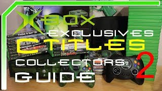 Original XBOX Exclusives Buying Guide C Titles Retrospective